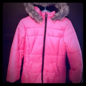 Pink Girls Coat